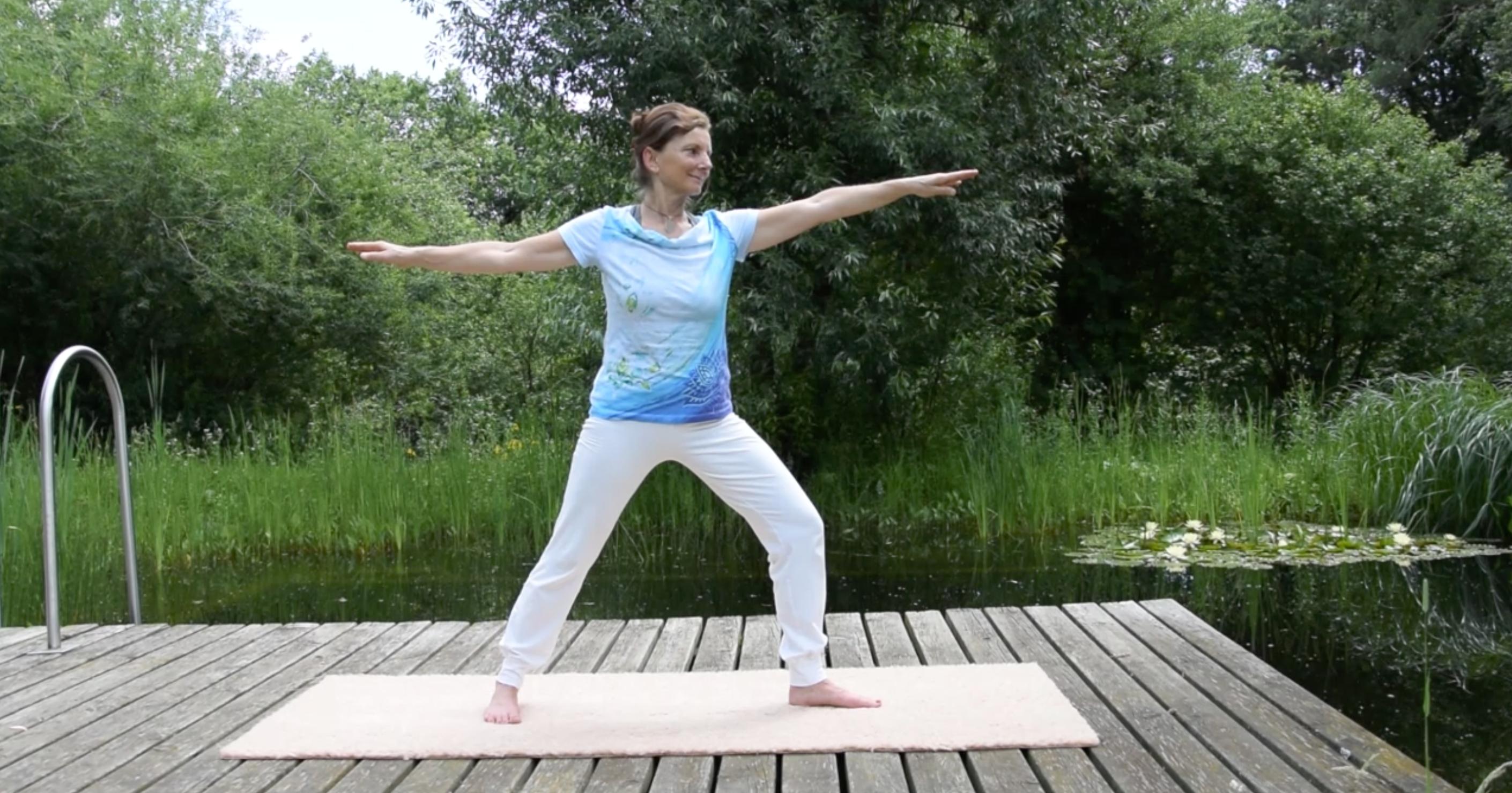 Sommer Yoga Christa Pusch