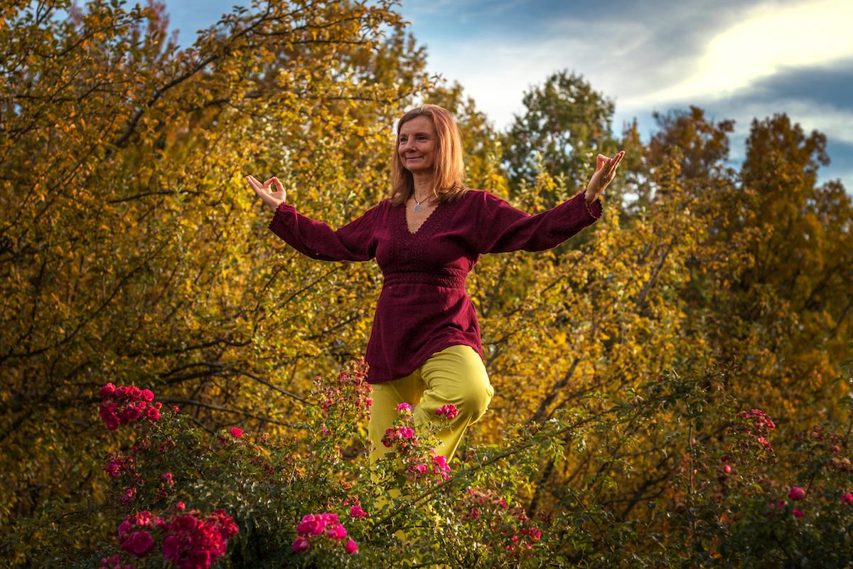 Christa Pusch - Yoga & Glückseligkeit