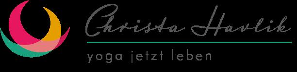 Christa Havlik - yoga jetzt leben Logo